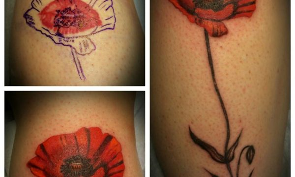 The Artistocrat Hamburg | Blume Tattoo by Ariane Machat