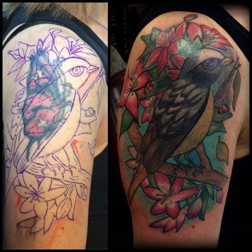 The Artistocrat Hamburg | Cover-Up Tattoo by Ariane Machat