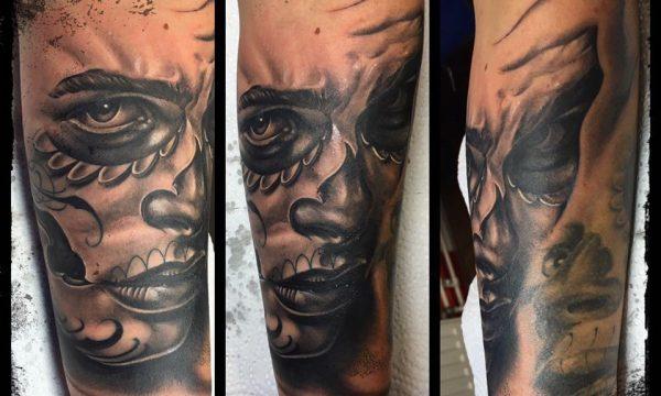 The Artistocrat Hamburg | Face Tattoo by Ronny Kurth