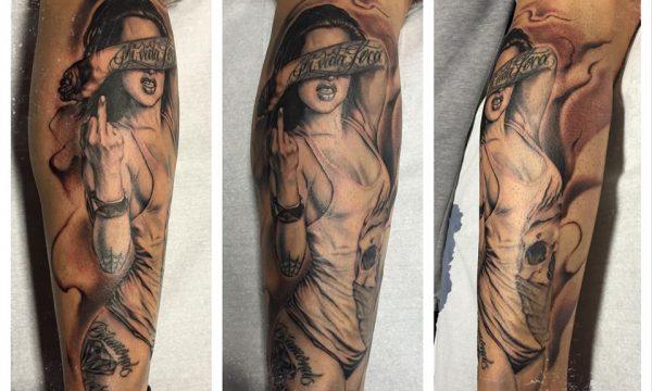 The Artistocrat Hamburg | Pin-Up Tattoo by Ronny Kurth