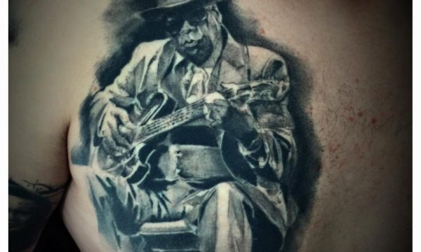 The Artistocrat Hamburg | Guitar Legend Tattoo by Csaba Kerekes