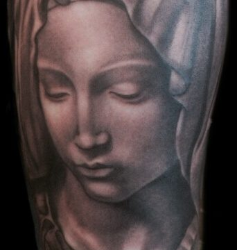 The Artistocrat Hamburg   Maria Tattoo by Zsolt Machat