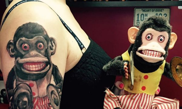 The Artistocrat Hamburg | Monkey Tattoo by Csaba Kerekes