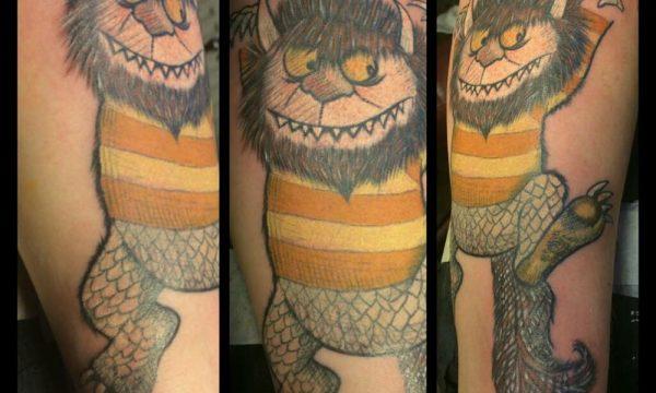 The Artistocrat Hamburg | Monster Tattoo by Ariane Machat