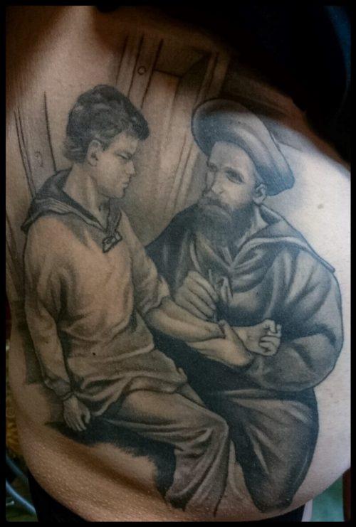 The Artistocrat Hamburg | Realistic Tattoo by Zsolt Machat