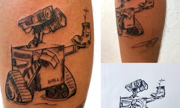 The Artistocrat Hamburg | Robot Tattoo by Oliver Moule