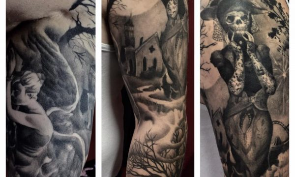 The Artistocrat Hamburg | Sleeve Tattoo by Csaba Kerekes