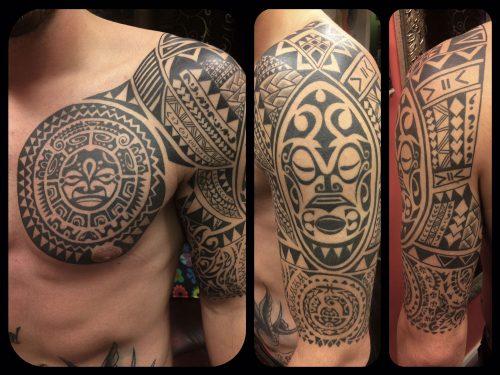 The Artistocrat Hamburg | Tahiti Tattoo by Ariane Machat