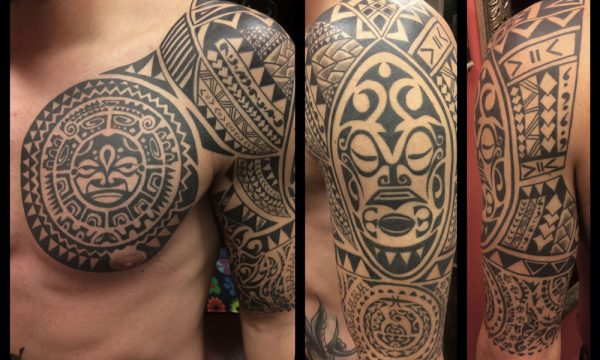 The Artistocrat Hamburg | Tahiti Tattoo by Ariane Machat