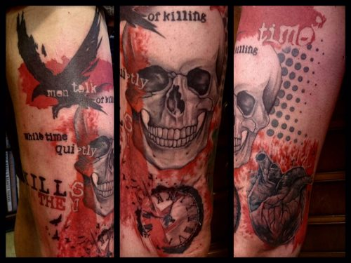 The Artistocrat Hamburg | Trashpolka Tattoo by Zsolt Machat