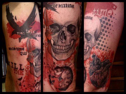 The Artistocrat Hamburg   Trashpolka Tattoo by Zsolt Machat